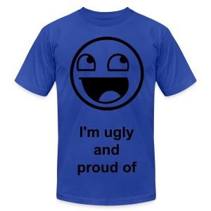 Ugly - Men's T-Shirt by American Apparel
