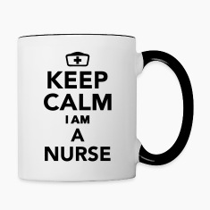 Keep calm I'm a Nurse Bottles & Mugs