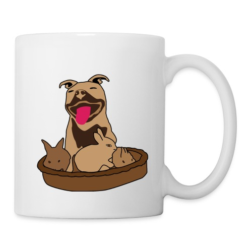 Easter Pitbull Bunny Mug - Coffee/Tea Mug