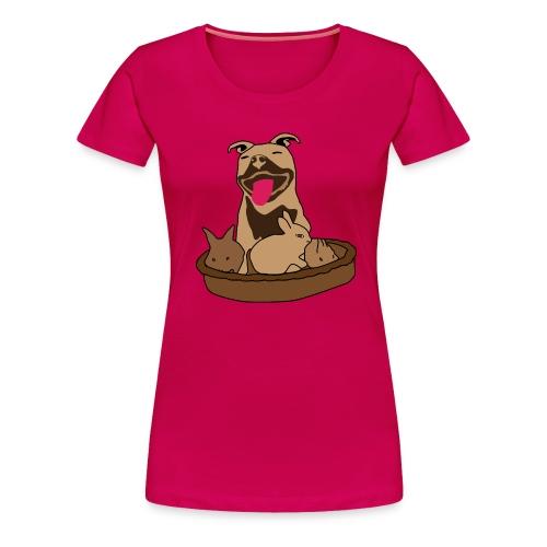 Easter Pitbull Bunny Women Premium T-Shirt - Women's Premium T-Shirt