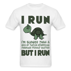i run like a turtle
