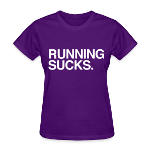 running sucks purple