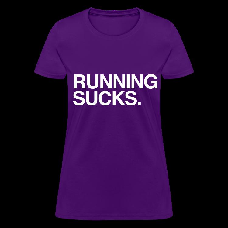 running sucks purple