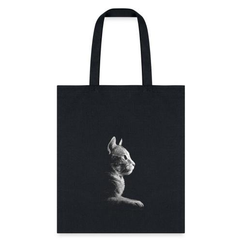 Kitty Silhouette - Tote Bag