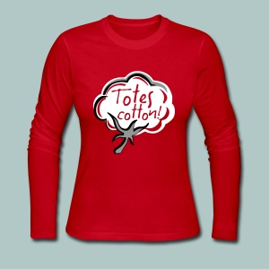 Totes cotton Long Sleeve Tee - Women's Long Sleeve Jersey T-Shirt