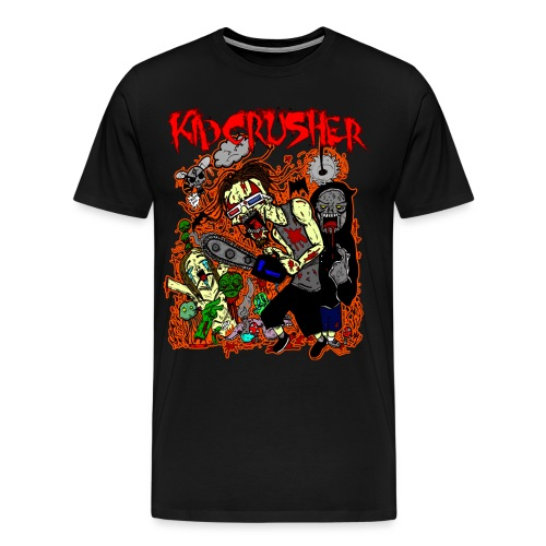 KidCrusher - 3D Wonderland - Men's Premium T-Shirt