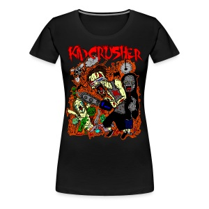 KidCrusher - 3D Wonderland - Women's Premium T-Shirt