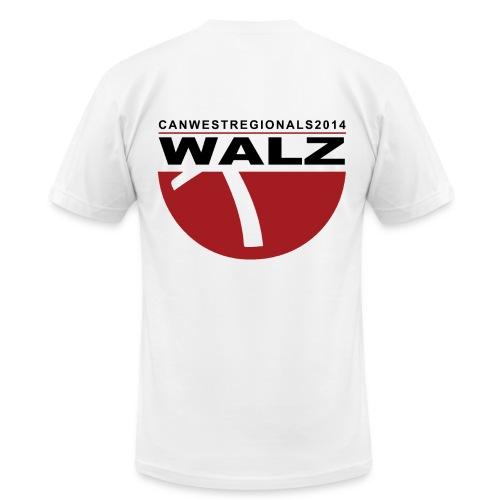 2014 REGIONALS - WALZ (mens) - Men's Fine Jersey T-Shirt