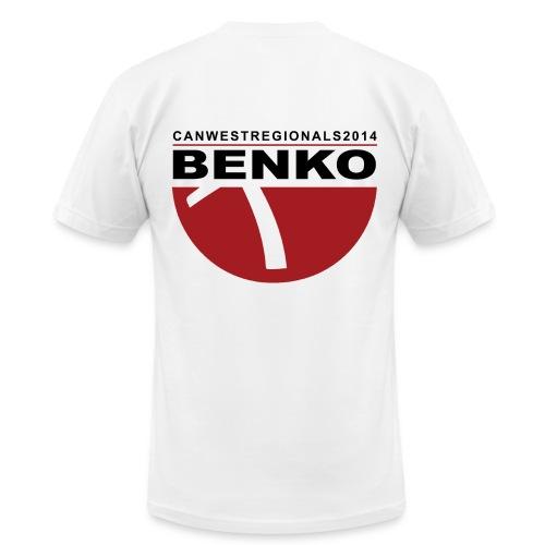 2014 REGIONALS - BENKO (mens) - Men's Fine Jersey T-Shirt
