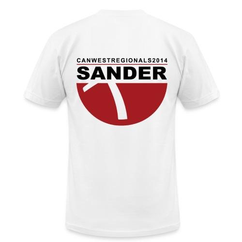 2014 REGIONALS - SANDER (mens) - Men's Fine Jersey T-Shirt