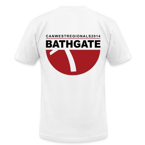 2014 REGIONALS - BATHGATE (mens) - Men's Fine Jersey T-Shirt