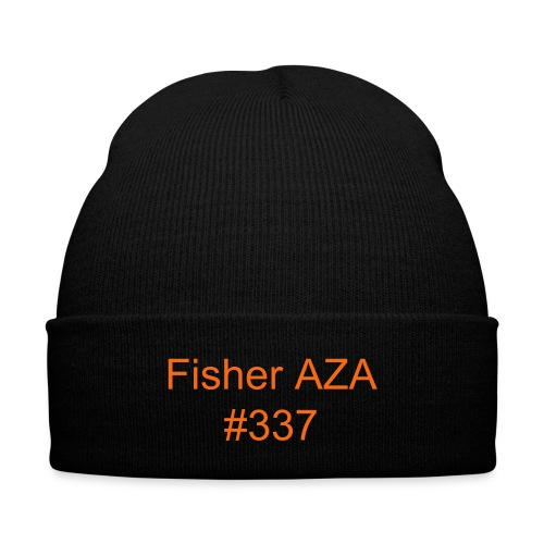 Fisher Beanie - Knit Cap with Cuff Print