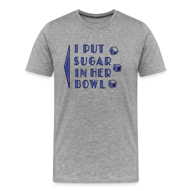 sugar in bowl - for men T-Shirts