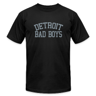 T-Shirts ~ Men's T-Shirt by American Apparel ~ Detroit Bad Boys