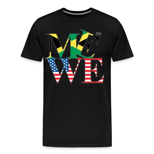 Me We Jamaican Tee  - Men's Premium T-Shirt