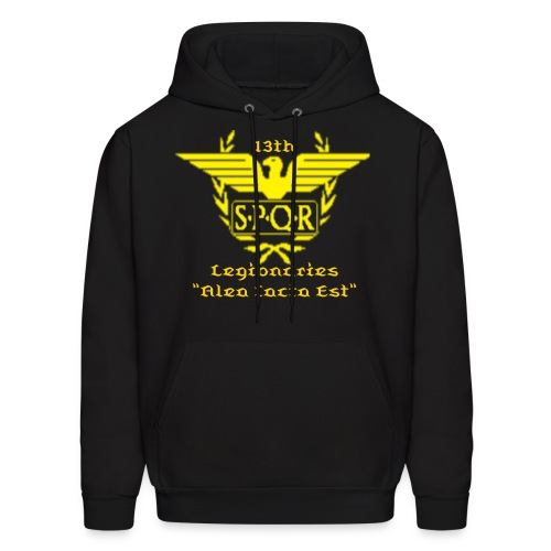 Yellow Main Hoodie (Hoodie Color , Text Color & Words are Changeable)  - Men's Hoodie