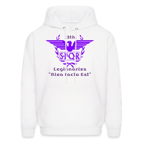 Purple Main Hoodie (Hoodie Color , Text Color & Words are Changeable)  - Men's Hoodie
