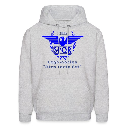 Blue Main Hoodie (Hoodie Color , Text Color & Words are Changeable)  - Men's Hoodie