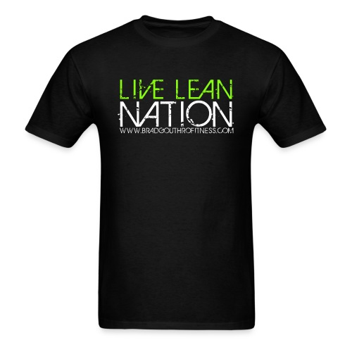 Live Lean Nation Tee Shirt - Men's T-Shirt