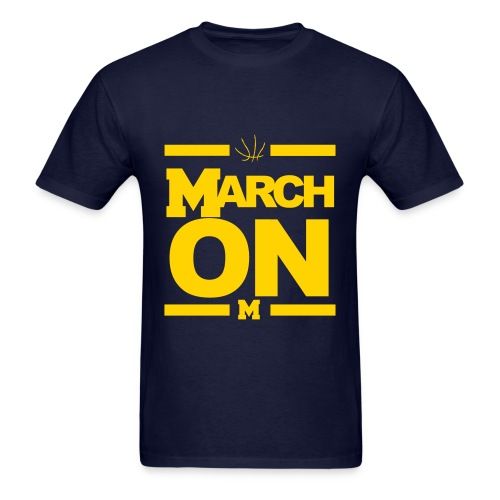 March On - Men's T-Shirt