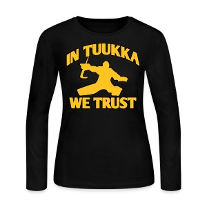 In Tuukka We Trust - Women's Long Sleeve Jersey T-Shirt