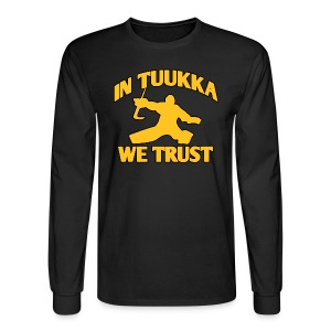 In Tuukka We Trust - Men's Long Sleeve T-Shirt