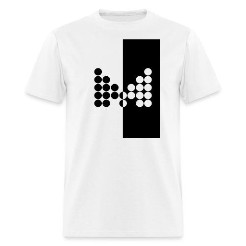 Impact Tee (Mens Black Design) - Men's T-Shirt