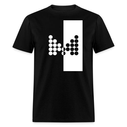 Impact Tee (Mens White Design) - Men's T-Shirt