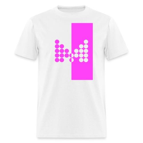 Impact Tee (Mens Pink Design) - Men's T-Shirt