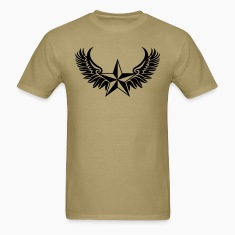 Nautical Star - Protection Symbol - Tattoo Style T-Shirts