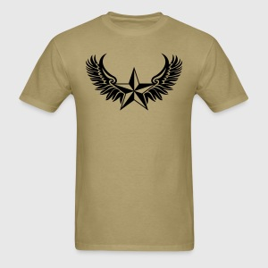 Nautical Star - Protection Symbol - Tattoo Style T-Shirts - Men's T-Shirt
