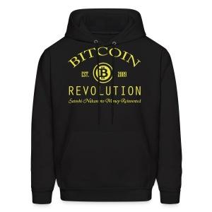 Bitcoin Revolution Hoodie - Men's Hoodie