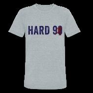 T-Shirts ~ Unisex Tri-Blend T-Shirt ~ Hard 90 - Men's Vintage Tri-Blend