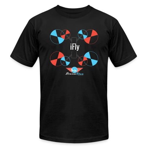 Mini Quad T-Shirt for Men  - Men's Fine Jersey T-Shirt