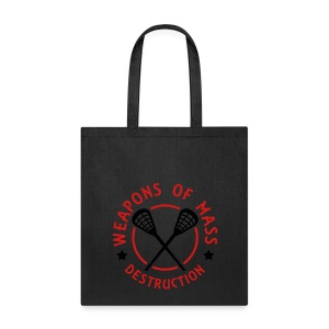 Lacrosse Weapons of Mass Destruction Tote - Tote Bag