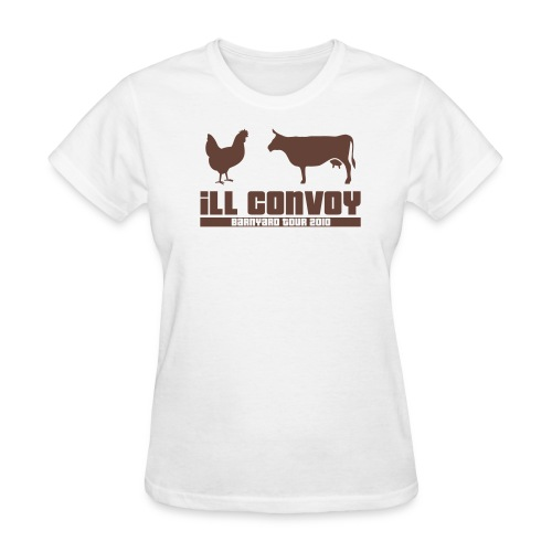 iLL CONVOY - BROWN CHICKEN BROWN COW T-Shirt (Womens) - Women's T-Shirt