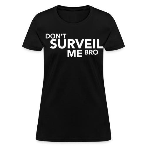 DSMB Text White (Women's) - Women's T-Shirt