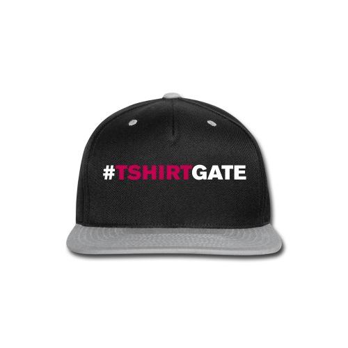T-shirtgate Cap - Snap-back Baseball Cap