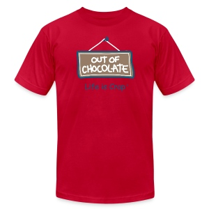 Out of Chocolate - Men's T-shirt by American Apparel - Men's T-Shirt by American Apparel