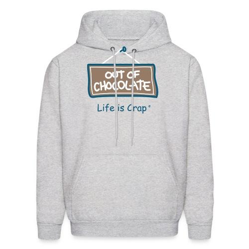 Out of Chocolate - Men's Hooded Sweatshirt - Men's Hoodie