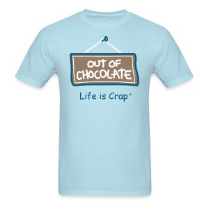 Out of Chocolate - Mens Standard Weight T-Shirt - Men's T-Shirt