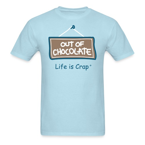 Out of Chocolate - Mens Standard Weight T-Shirt - Men's T-Shirt