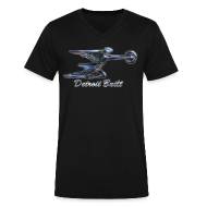 T-Shirts ~ Men's V-Neck T-Shirt by Canvas ~ Packard Ornament