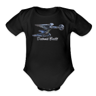 Baby Bodysuits ~ Baby Short Sleeve One Piece ~ Packard Ornament
