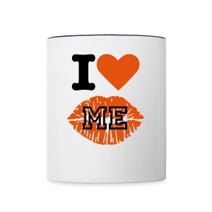 I Love Me Mug! - Contrast Coffee Mug