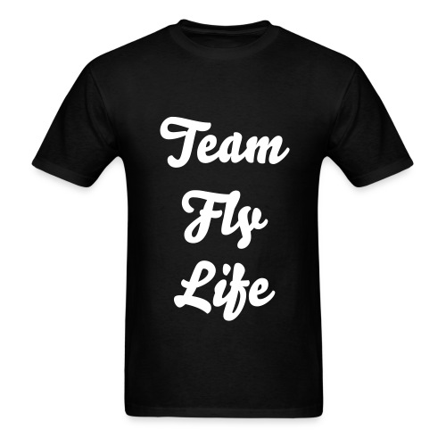 OG TeamFlyLife Tee (White) Logo - Men's T-Shirt