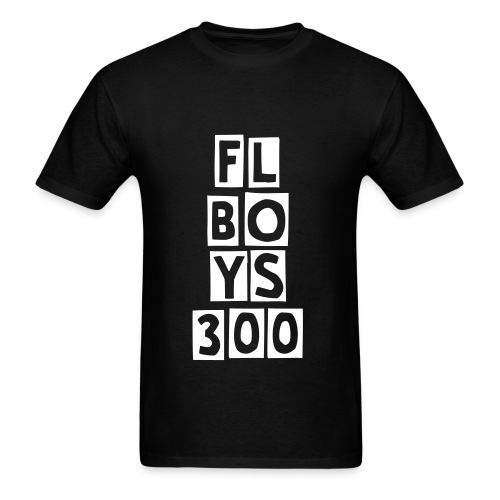 FL Boys PlayBlocks Tee (White) Logo - Men's T-Shirt
