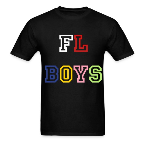 FL Boys Tee (MultiColor) Logo - Men's T-Shirt