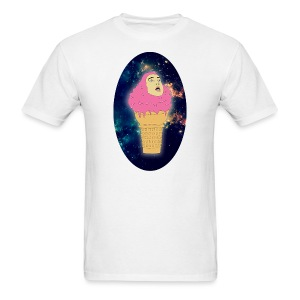 ice cream oval - Men's T-Shirt