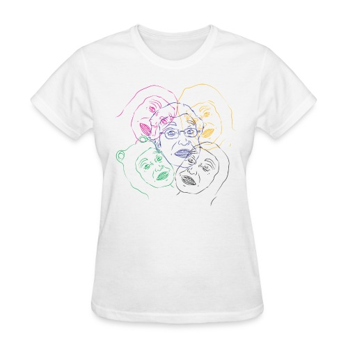CLUSTERFUCK FACES WOMEN SUBSPECIES  - Women's T-Shirt
